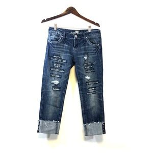 BOGO Almost Famous Roll Up Crop Jeans 5
